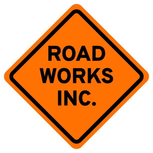 Road Works Inc. Logo